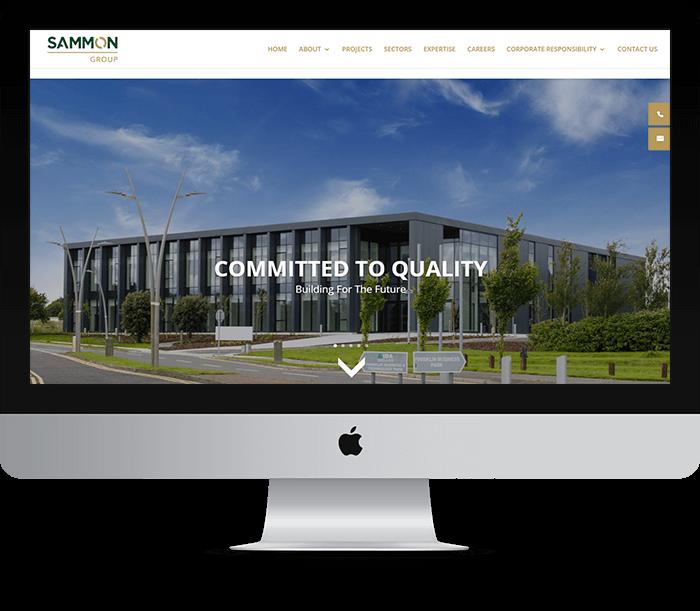 Sammon Group Website Design