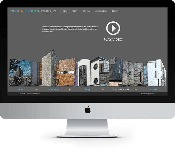 Smith + Kennedy Architects Website Design