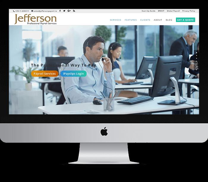 Jefferson Payroll Website Design