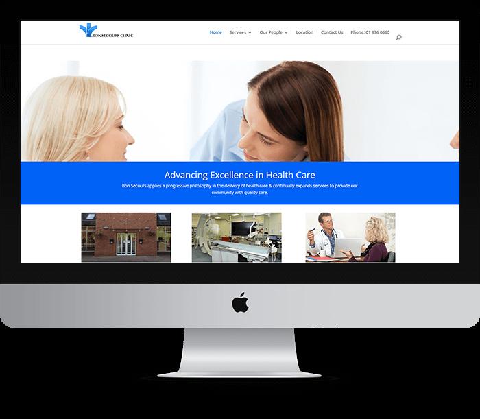 Bon Secours Clinic Website Design