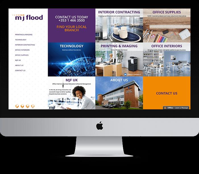 MJ Flood Website Design