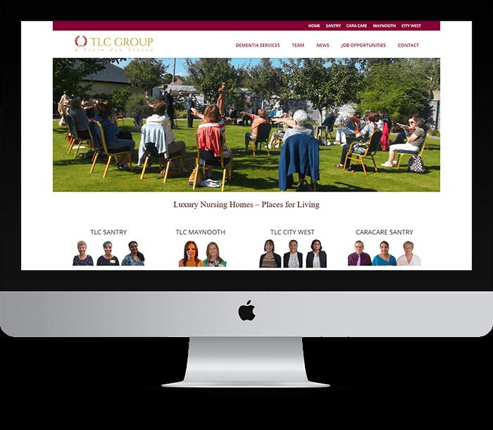 TLC Group Website Design